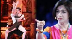 女选手穿3厘米短裙献舞,频频倒立露风光,金星怒怼:滚下去!