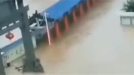 济南章丘 台风 利奇马 登陆 多地出现严重积水 村庄遭洪水围困