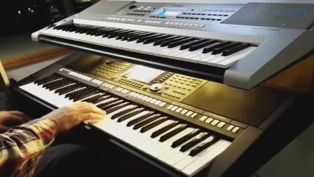 《放弃我是你的错》,牛人电子琴演奏
