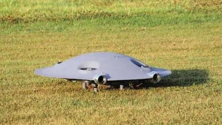 """国外科学家研制出了""""飞碟"""",以后看到的ufo,"""