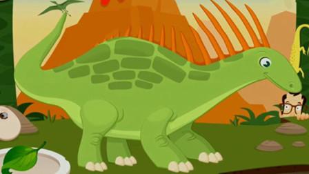 考古学家沙漠挖掘 恐龙世界大发现 恐龙骨骼化石