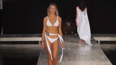 2020迈阿密时装周 Abruzzo 品牌泳装秀,第一位超模让人惊艳,这是恋爱的感觉