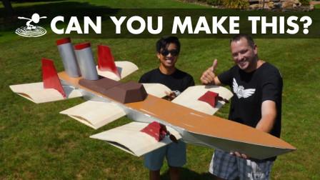 技术活!牛人打造了一艘巨大的飞船