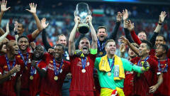 利物浦总比分7-6切尔西,第四次夺欧超杯冠军!