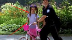 警察抢走熊孩子自行车追小偷?老外爆笑恶搞,