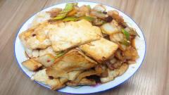 教你做农村家常美食白菜炖豆腐的做法,好吃又