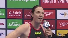"""女子50米自由泳决赛-澳大利亚""""短距离女皇""""坎"""