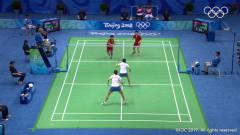 历史上的今天:2008北京奥运会羽毛球女子双打决