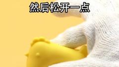 搞笑视频,只要轻轻一捏蛋黄跟蛋清就分离了,