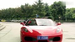 宝贝:富豪开法拉利参观车展,一眼相中美女车