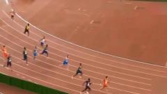 赛道上唯一的非黑色皮肤,这就是你们弱不禁风