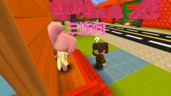迷你世界:天天村长搞笑视频,来自媳妇的三连