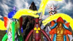 野生奥特曼VS怪兽岛,儿童玩具定格动画,儿童视
