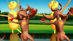 狗狗机器人像美女广场舞搞笑视频
