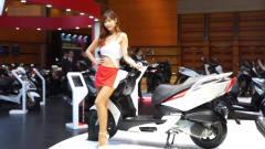 摩托车展 靓丽美女车模 ONE