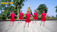 农村姐妹广场舞:DJ玛尼情歌 音乐动听,舞步欢
