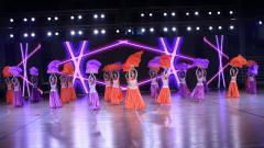 衡阳市全民健身日体育展示——热辣肚皮舞
