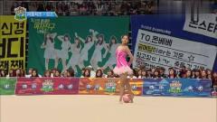 偶像运动会:美女的夺冠体操,让韩国欧巴惊叹