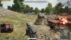 绝地求生PU*G精彩搞笑视频:这车祸让我猝不及防
