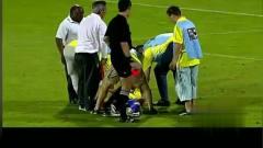 足球搞笑视频 亨利大帝怒演普约尔