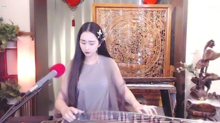 #音乐最前线#古典小姐姐弹奏古筝