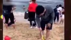 家庭幽默录像:挖沙技术哪家强,还得找我爸帮
