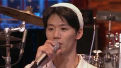 帅过主唱鼓手小胡 曾和李荣浩音乐节上合作