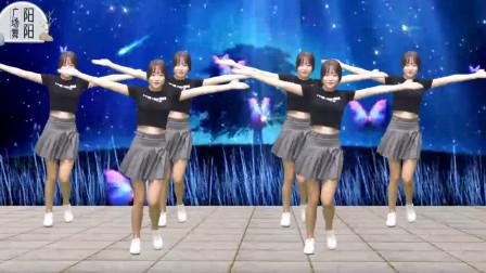 活力广场舞《蝴蝶飞》网络热门舞曲,美女舞步