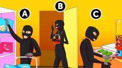 推理动画:这3个小偷当中,谁是孕妇?