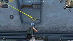 绝地求生刺激战场:超肥的房区,落地就有M249加狗杂,果真没失望!