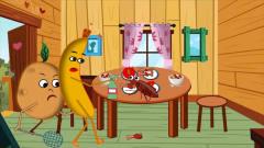 搞笑动画,《香蕉哥哥和土豆弟弟》第八集,消