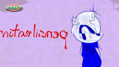 搞笑动画铅笔人,小铅笔人的噩梦,可恶的小丑