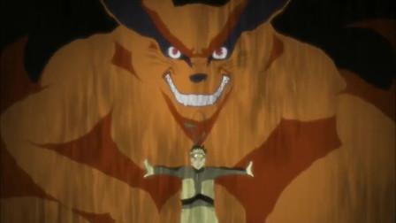 火影忍者 现在 你已经不是妖狐了 你是木叶村我的搭档 九喇嘛