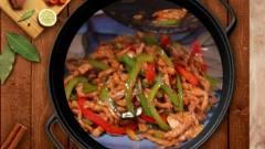 家常下饭菜 口感刚好 青椒肉丝