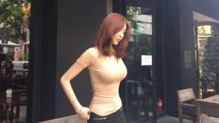 王思聪当初2亿没聘来的韩国主播,魔鬼身材跳舞