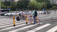 最会打广告的自行车,有创意还不会影响市容,