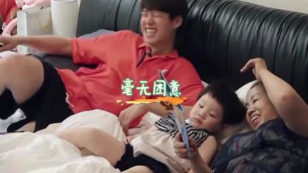 做家务的男人:魏大勋讲睡前故事,把孩子哄睡着了,汪苏泷:这个我都困了