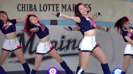 韩国美女啦啦队大秀舞技,比女团还要厉害的存