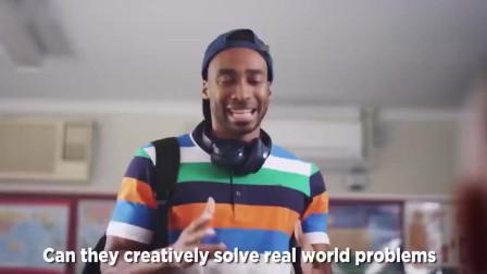 创意广告:这位学生终于爆发了,把老师说得一愣一愣的
