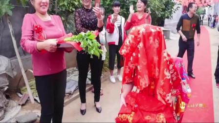 山东帅哥接亲回来,迎接新娘进家的风俗好有仪