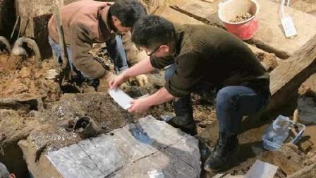 河北大哥挖菜窖,意外挖出一石棺,考古队:埋