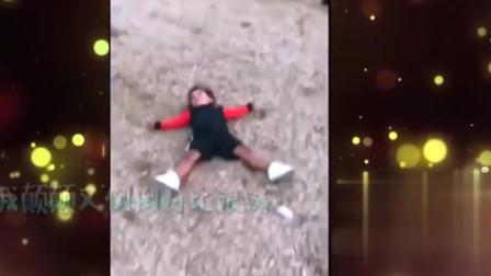 家庭幽默录像:魔性笑声是亲爸无疑,孩子开学老爸竟控制不住的疯狂
