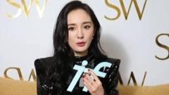 综艺小能手杨幂现身上海接受if时尚专访