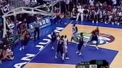 文斯-卡特代表美国男篮的扣篮全纪录,令人印象