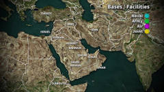 揭秘美国在中东的军事基地