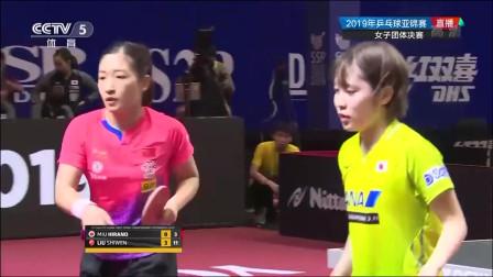 中国队3-0横扫日本队 夺乒乓球亚锦赛女团冠军 并获东京奥运资格