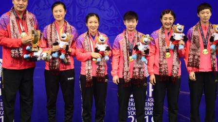 中国女乒3-0横扫日本队 连续三年决赛胜日本
