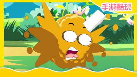植物大战僵尸游戏搞笑动画:小坚果,你的数学