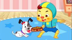 搞笑的艾伦-艾伦喜欢的狗狗 爱护动物从小朋友做