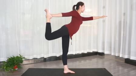 瑜伽最美舞蹈式,减去腿部多余赘肉,教你做美